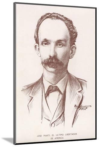 Jose Marti--Mounted Giclee Print