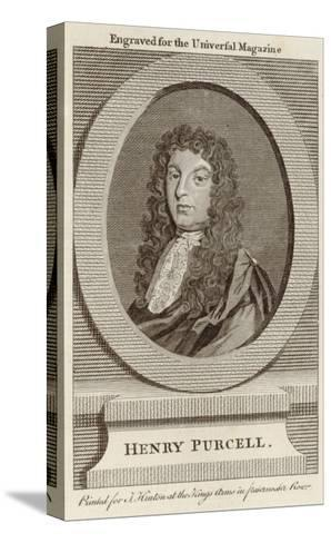 Henry Purcell English Composer--Stretched Canvas Print