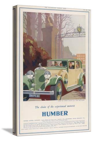 Humber Snipe '80'--Stretched Canvas Print