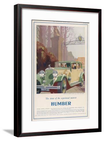 Humber Snipe '80'--Framed Art Print