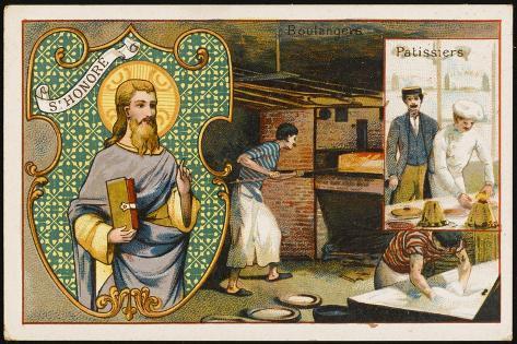 Honorius Patron Saint--Stretched Canvas Print