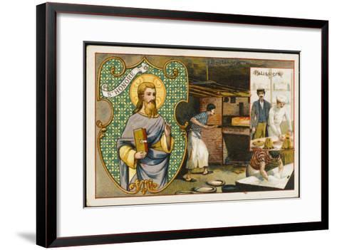 Honorius Patron Saint--Framed Art Print