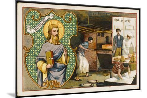 Honorius Patron Saint--Mounted Giclee Print