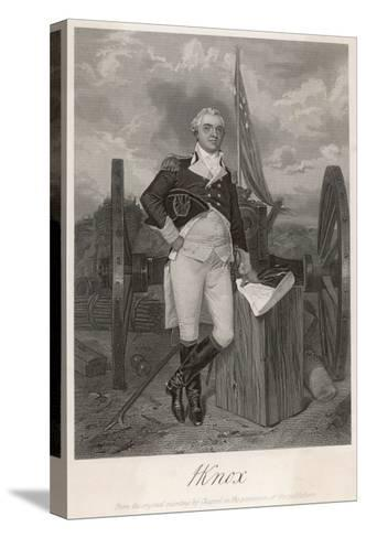 Henry Knox American Revolutionary Soldier and Statesman--Stretched Canvas Print