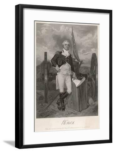 Henry Knox American Revolutionary Soldier and Statesman--Framed Art Print
