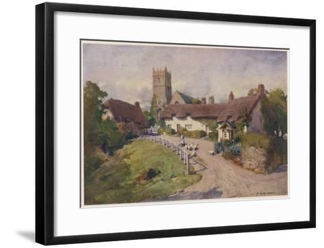 Isle of Wight: Godshill--Framed Art Print