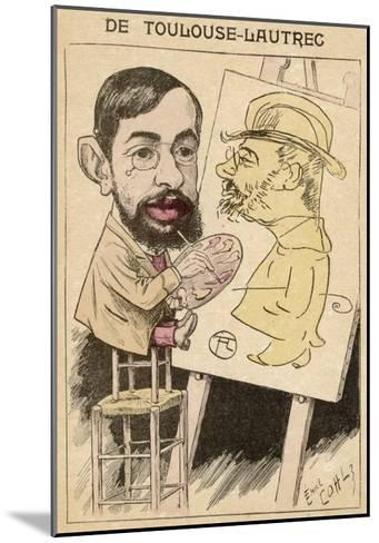 Henri-Marie-Raymond De Toulouse-Lautrec French Painter--Mounted Giclee Print