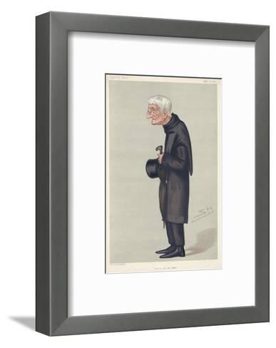 John Henry Newman Catholic Convert, Subsequently a Cardinal--Framed Art Print
