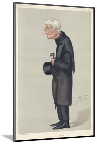John Henry Newman Catholic Convert, Subsequently a Cardinal--Mounted Giclee Print