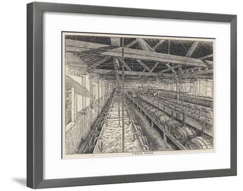 Ind Coope, Burton the Union Room--Framed Art Print
