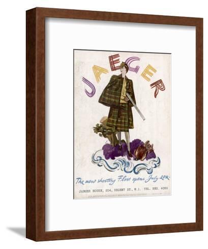 Hunting Dress 1938--Framed Art Print