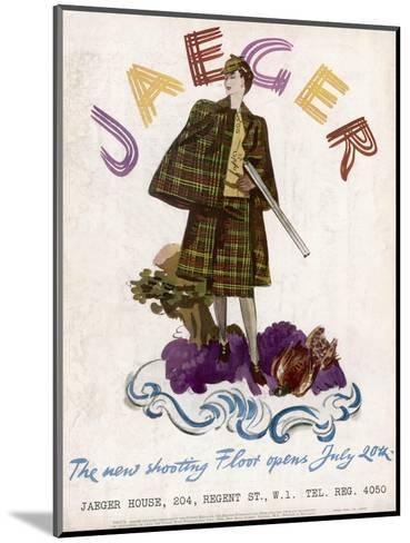 Hunting Dress 1938--Mounted Giclee Print
