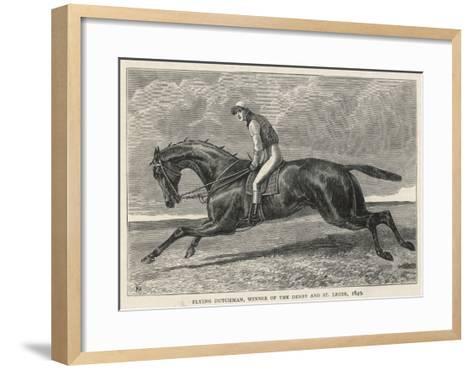 Horse 'Flying Dutchman'--Framed Art Print