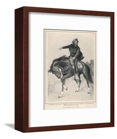 Houston at San Jacinto--Framed Art Print