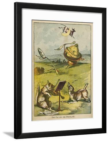 Hey Diddle Diddle--Framed Art Print