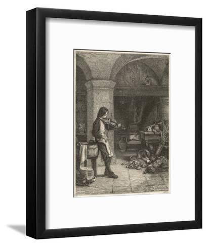 Jean Baptiste Lully French Composer and Court Musician as a Young Boy--Framed Art Print