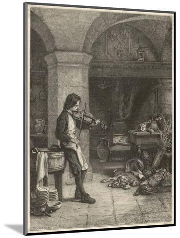 Jean Baptiste Lully French Composer and Court Musician as a Young Boy--Mounted Giclee Print