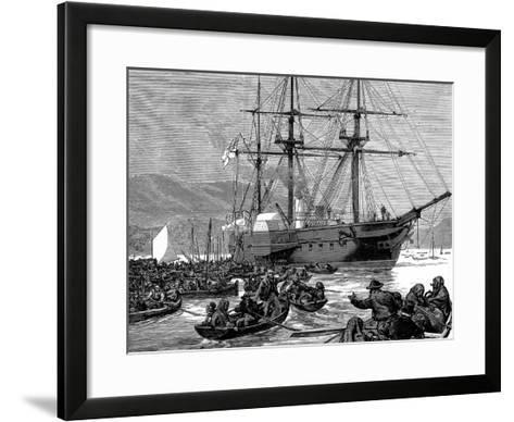 Irish Relief Squadron--Framed Art Print