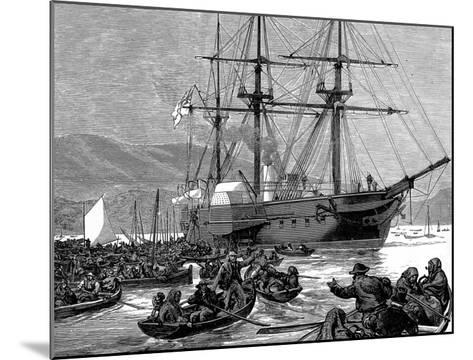 Irish Relief Squadron--Mounted Giclee Print