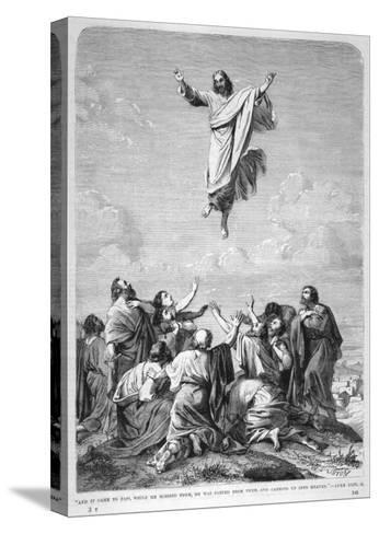 Jesus Ascends to Heaven--Stretched Canvas Print