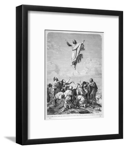 Jesus Ascends to Heaven--Framed Art Print