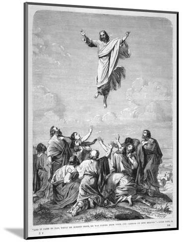 Jesus Ascends to Heaven--Mounted Giclee Print