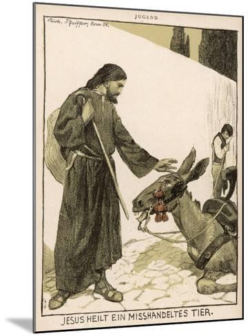 Jesus of Nazareth Religious Leader of Jewish Origin Who Preached 'Christianity'--Mounted Giclee Print