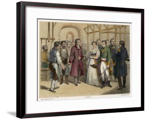 Jacquard and Napoleon--Framed Art Print