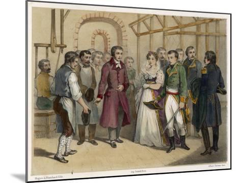 Jacquard and Napoleon--Mounted Giclee Print