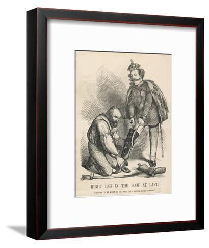 Italian Unification--Framed Art Print