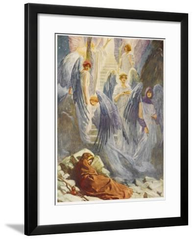 Jacob's Dream--Framed Art Print