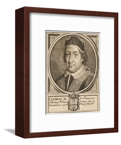 Pope Clemens XI (Gianfrancesco Albani)--Framed Art Print