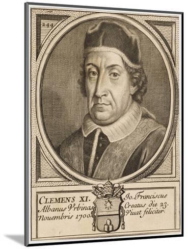 Pope Clemens XI (Gianfrancesco Albani)--Mounted Giclee Print