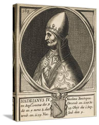 Pope Hadrianus IV (Nicholas Breakspeare) the Only English Pope--Stretched Canvas Print