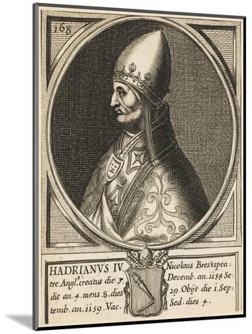 Pope Hadrianus IV (Nicholas Breakspeare) the Only English Pope--Mounted Giclee Print