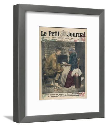 Reading Tea Leaves--Framed Art Print