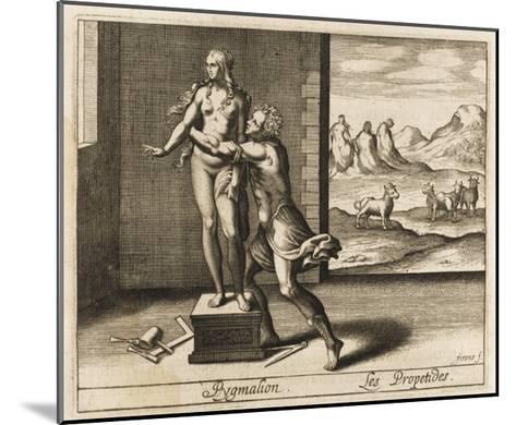 Pygmalion and Statue--Mounted Giclee Print
