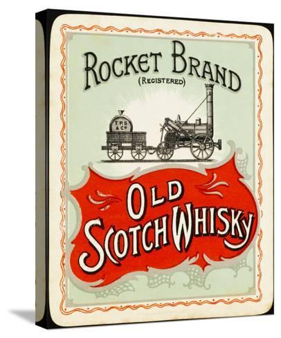 Rocket Whiskey--Stretched Canvas Print