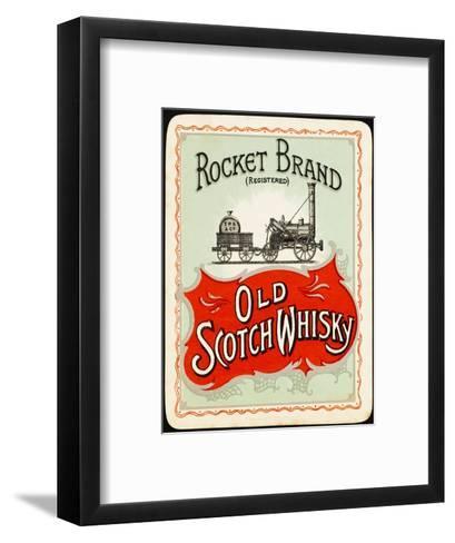 Rocket Whiskey--Framed Art Print
