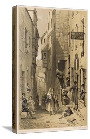 Libberton's Wynd--Stretched Canvas Print