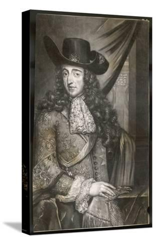 King William III--Stretched Canvas Print