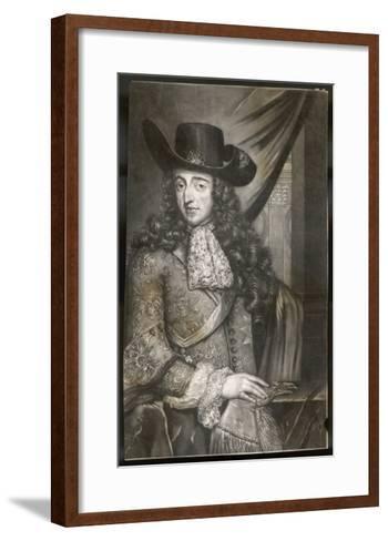 King William III--Framed Art Print