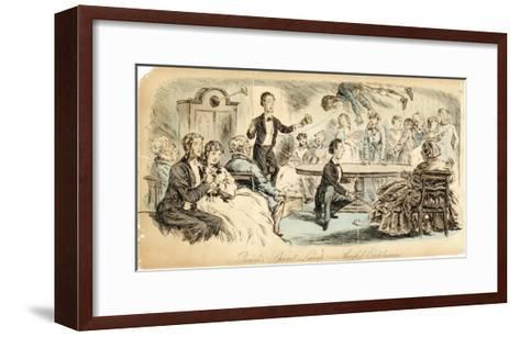 Levitation Seance--Framed Art Print