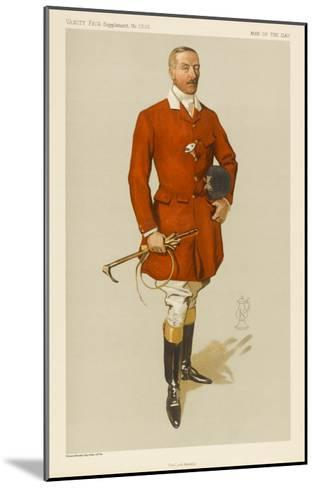 Lord Annesley, Master of Hounds--Mounted Giclee Print