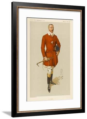 Lord Annesley, Master of Hounds--Framed Art Print