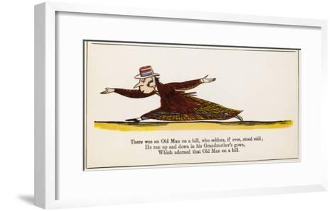 The Book of Nonsense--Framed Art Print