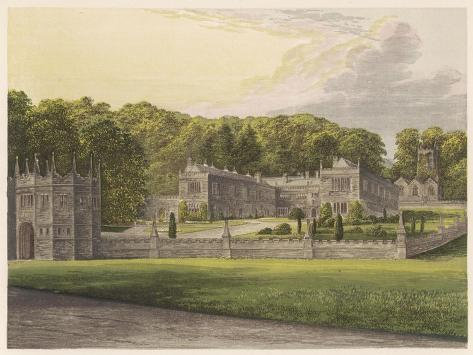 Lanhydrock, Cornwall--Stretched Canvas Print