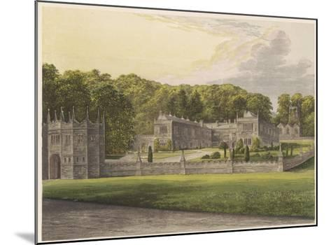 Lanhydrock, Cornwall--Mounted Giclee Print