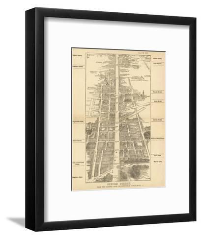 London Birdseye--Framed Art Print