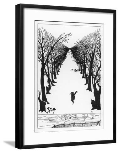 The Cat That Walked By Himself--Framed Art Print